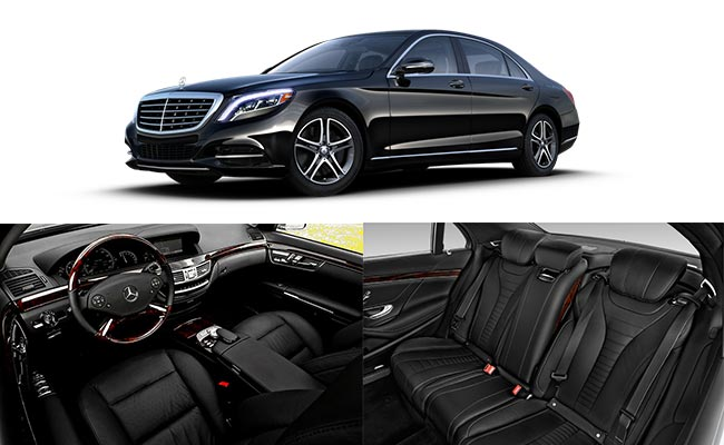 Seattle Limousine Luxury Sedan Mercedes s550