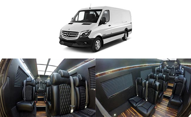 Seattle Limousine Luxury Van Mercedes Sprinter