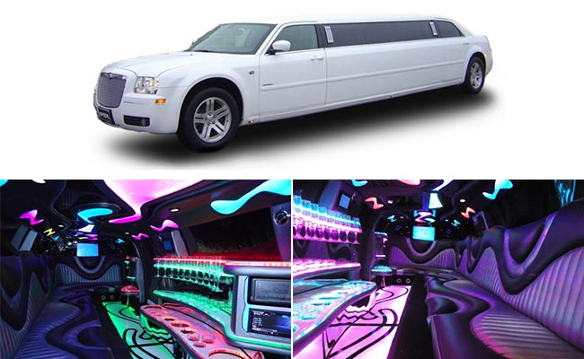 Seattle Limousine White Chrysler 300 VIP